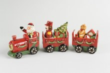 Ceramic Train with Presents