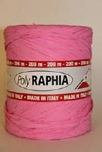 Poly raphia (15mm x 200m/Pink)