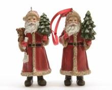 poly Santa with hanger 2ass