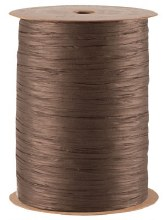 Poly raphia (15mm x 200m/Brown)