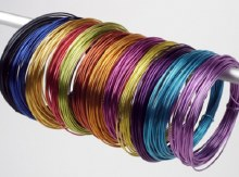 Aluminium Wire Lilac