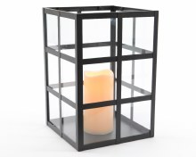 LED square metal urban lantern