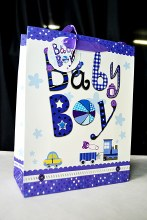 Baby bags 42x30 Large Blue