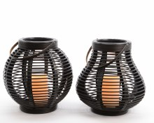 LED plastic lantern (2 assorted)