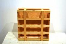 4 Bottle Wine Carrier (Wooden)
