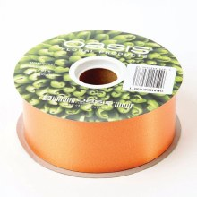 Poly Ribbon Satin Orange (4.8cm x 91m)