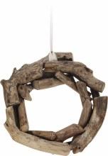 Wreath Twig Teak Wood (40cm)
