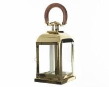 Stainless steel lantern (20.3x48.3cm)