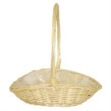 Basket Single Peeled Country (22x30x27cm)