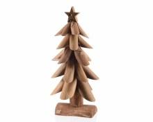 walnut wood Christmas tree wi