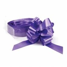 Pull Bow 50mm Purple (x20)