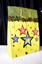Christmas Bags 42cm x 30cm Gol