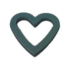 """Plastic Base Open Heart 17"""""""