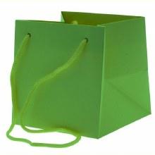 Hand Tie Bag Lime (17x17cm)