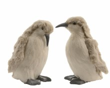 foam penguin with pluche 2ass