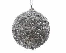 foam bauble glitter w hanger