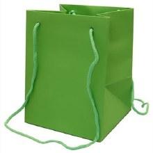 Hand Tie Bag Lime (19x25cm)