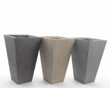 clay fibre planter stack 3clas