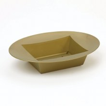 Designer Bowl Oval Gold