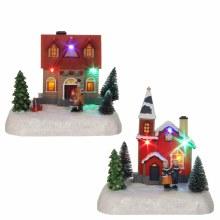 A2 LUVILLE CHRISTMAS HOUSE B/O