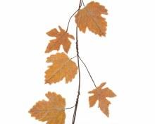 strass stone leaf garland