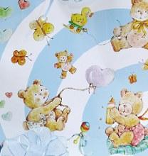 Paper rolls baby bear (70cm x 50m/Blue)