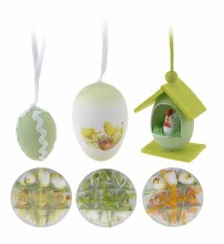 Easter egg hanger (set 12/3 assorted)