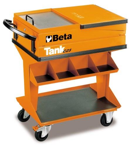 Trolley, Tool Tank w/ Shelf