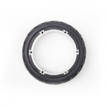 Solid Rubber Rear Wheel