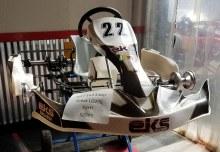EKS Silver 30-32 Race Kart