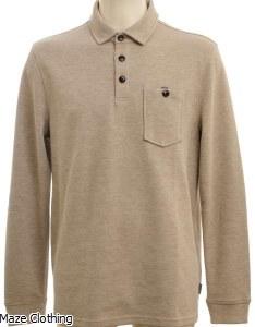 Ted Baker Akt Polo Shirt Beige