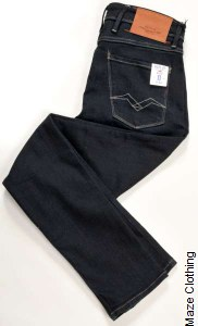 Replay Anbass Aged 0 Year Dark Jean