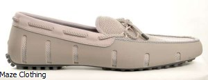 Swims Braided Lux Loafer Grey