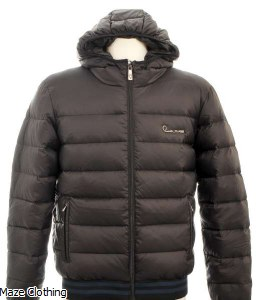 Cavalli Class Quilted Jacket Black