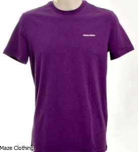 DSquared Logo t Shirt Lilac