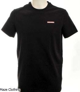 DSquared Logo t Shirt Black