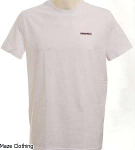 DSquared Logo t Shirt White