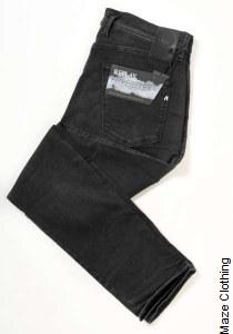 Replay Hyperflex Clouds 661 E01 Black Jean