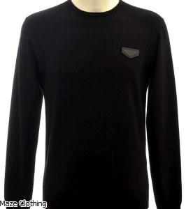 Antony Morato Logo Knit Black