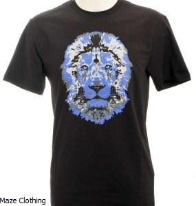 Untitled Atelier Lion T Shirt Black