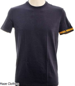 Dsquared Logo Arm T Shirt Navy