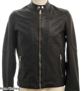Matinique MA Adron Black Leather Jacket