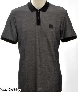 Hugo Boss Philipson 73 Polo Charcoal