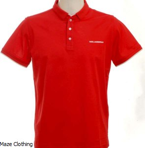 Lagerfeld Polo 755005 Red