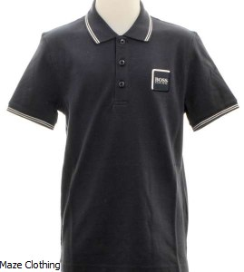 Hugo Boss Kids Polo Shirt J25 D53 Navy