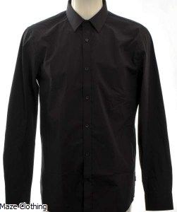 Matinique Robo N Black Shirt