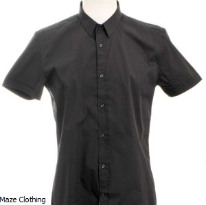 Antony Morato Short Sleeve Shirt Black