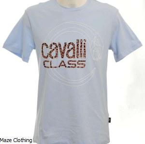 Cavalli Class Logo Serpent Sky