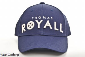Thomas Royall Grey Suede Cap