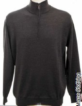 IL Telaio 1/4 Zip Knit Charcoal